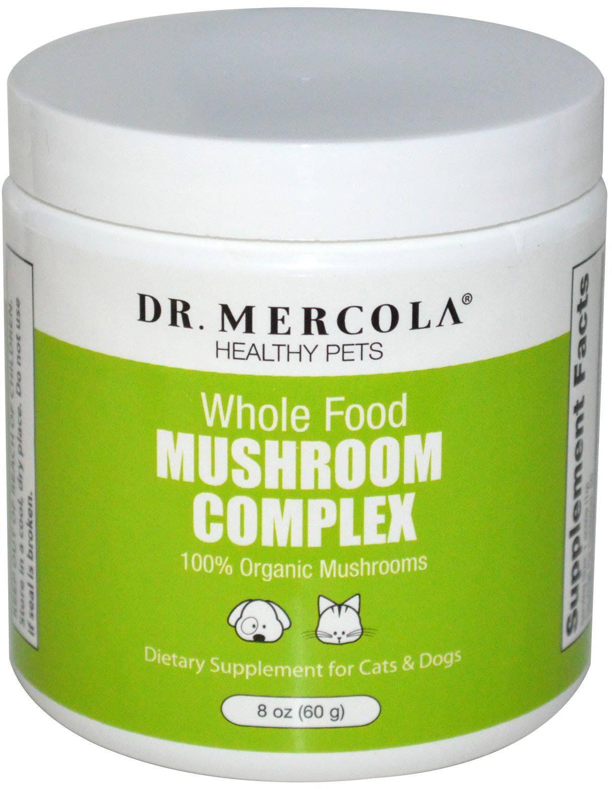 Dr Mercola Whole Food Mushroom Complex Pet Supplement - 8oz