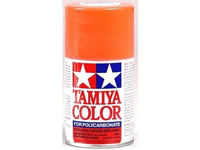 Tamiya Color Polycarbonate Spray Paint - Fluorescent Red