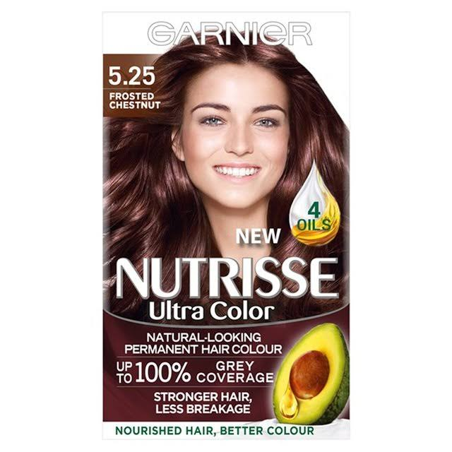 Garnier Nutrisse Permanent Hair Dye - 5.25 Ultra Chestnut Brown