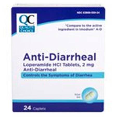 CDMA 0379662 Quality Choice Anti-Diarrheal 24 Caplets