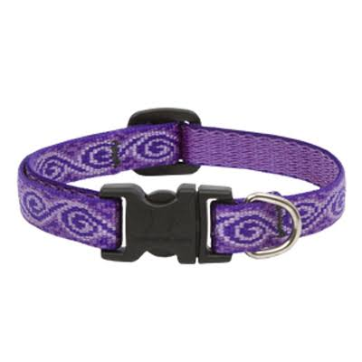 "Lupinepet Jelly Roll Adjustable Dog Collar - 1/2"" x 8-12"""