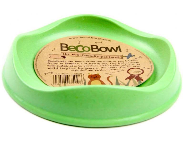 BecoBowl Eco Friendly Pet Bowl - Green