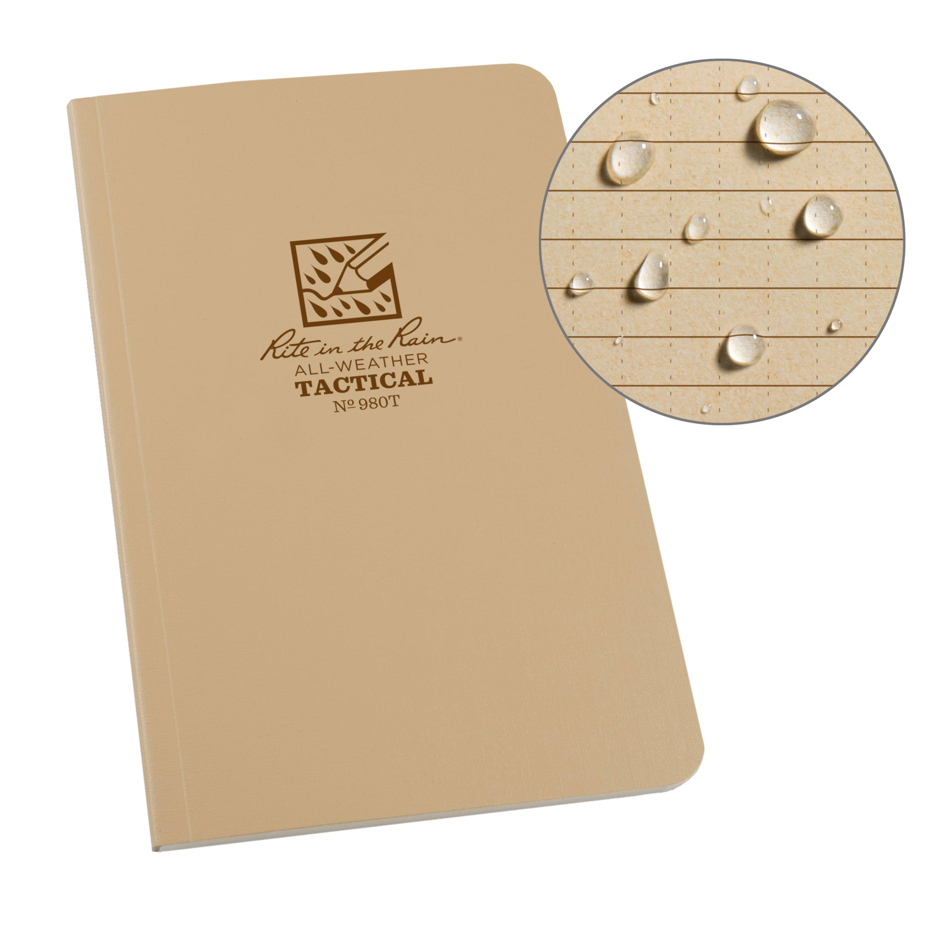"Rite in the Rain All-Weather Tactical Field Notebook - 4 5/8"" x 7"""