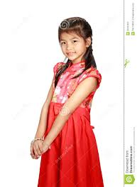 traditional chinese cheongsam dress stock photography image