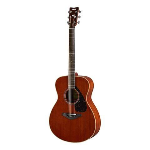 Yamaha FS850 Small Body Solid Top Acoustic Guitar - Mahogany