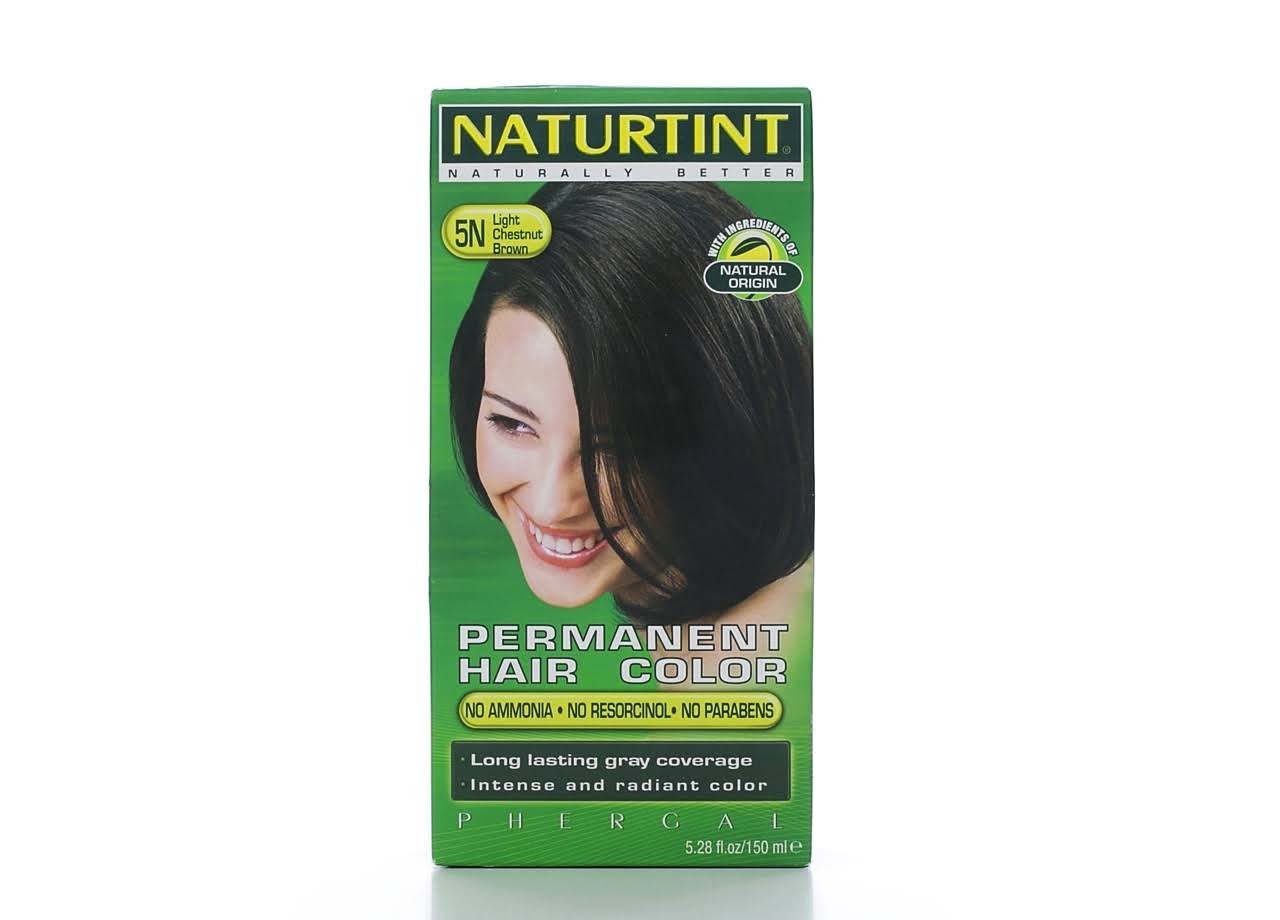 Naturtint Permanent Hair Colour Gel - 5N Light Chestnut Brown, 170ml