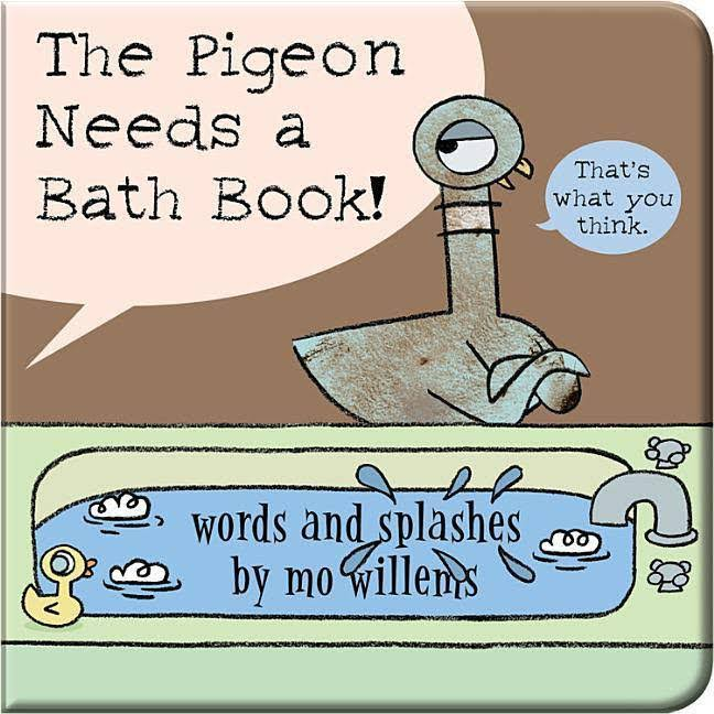 The Pigeon Needs a Bath Book! - Mo Willems