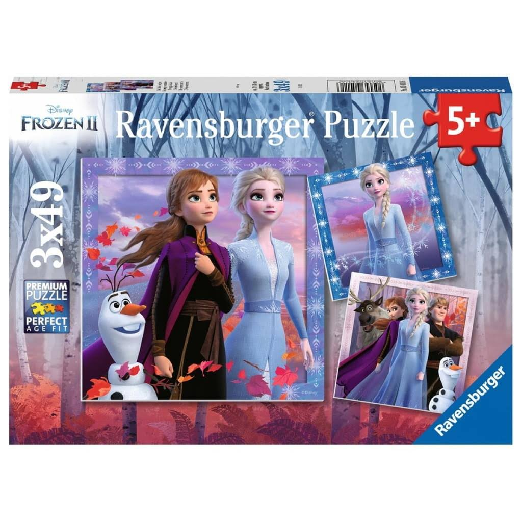 Ravensburger Disney Frozen II Kids Puzzle - 2 X 49 Pieces