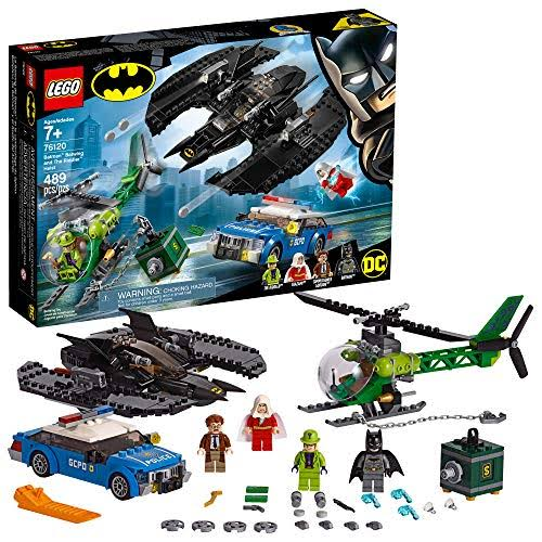 Lego Batman Batwing and The Riddler Heist 76120