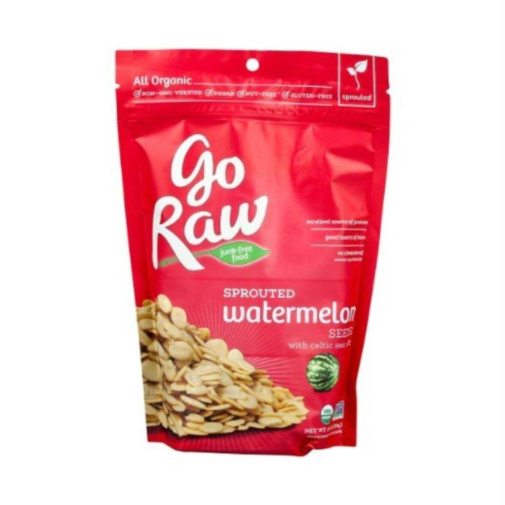 Go Raw Sprouted Seeds Watermelon - 10oz