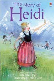 Heidi was probably the first book I read with a disabled character, Clara, though I can't say I identified with her.