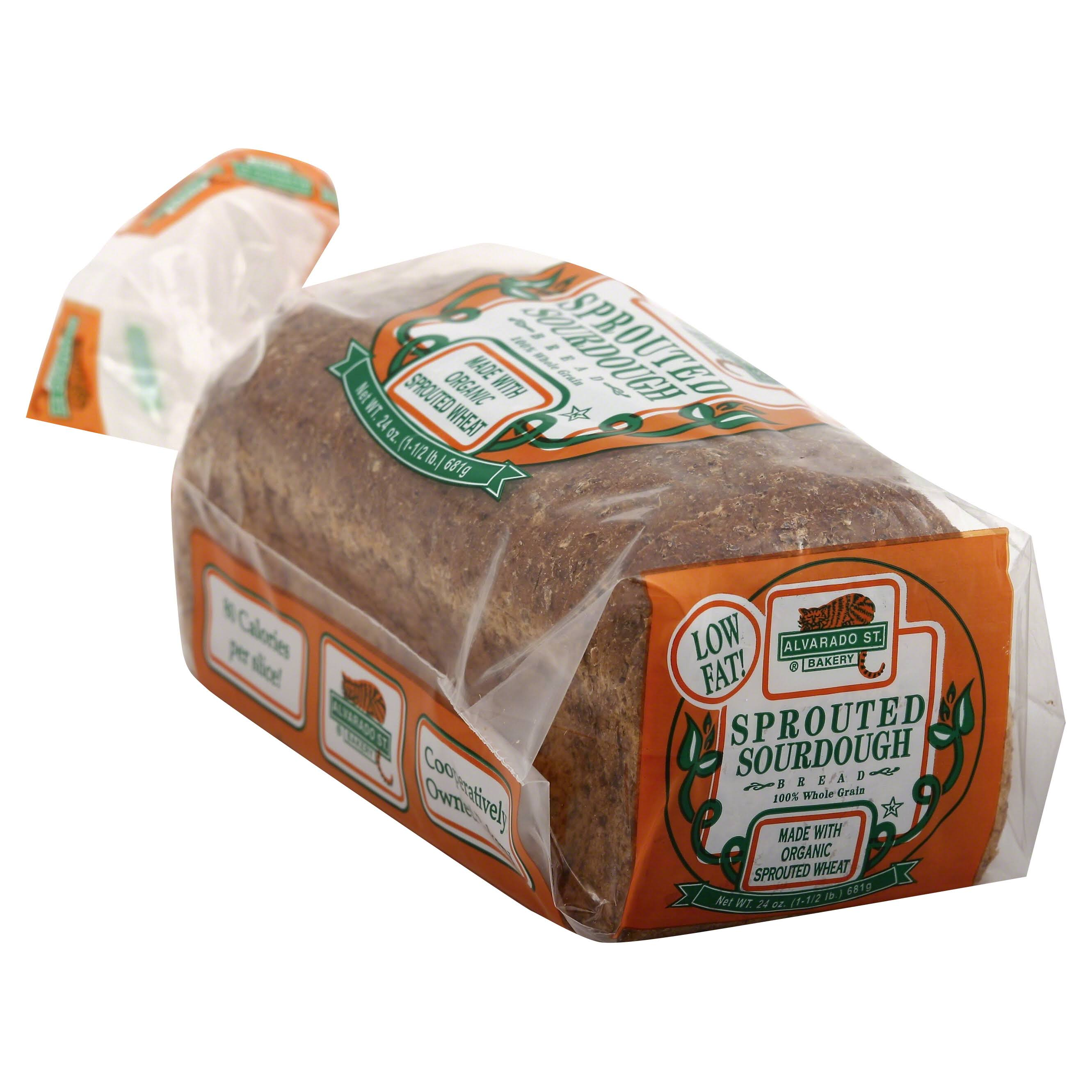 Alvarado St Bakery Organic Sprouted Sourdough Bread - 24oz