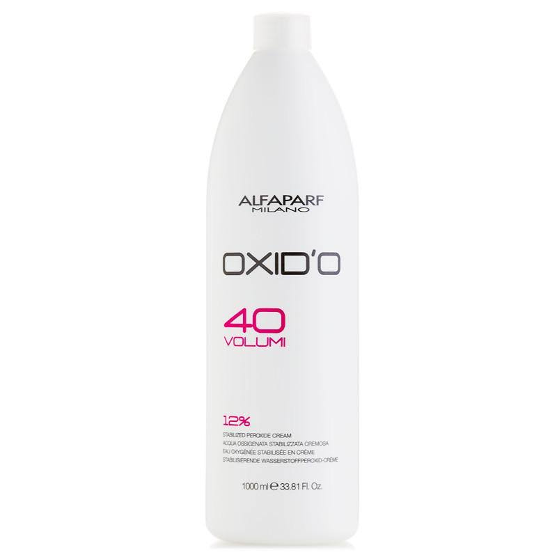 Alfaparf Oxid'o 40 Volume Stabilized Peroxide Cream - 1000ml