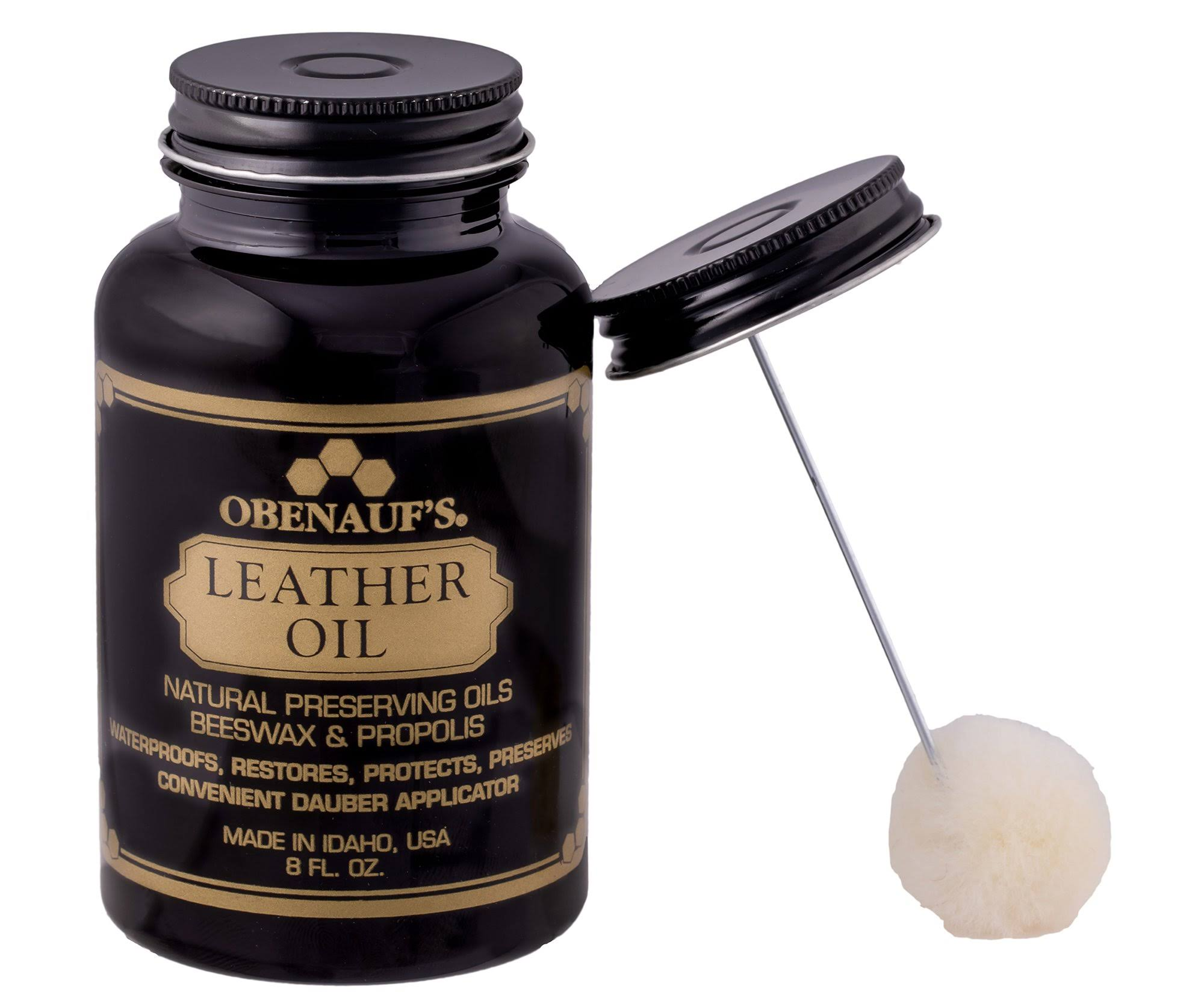 Obenauf's Restore Dry Leather Fiber Care Oil - 8oz