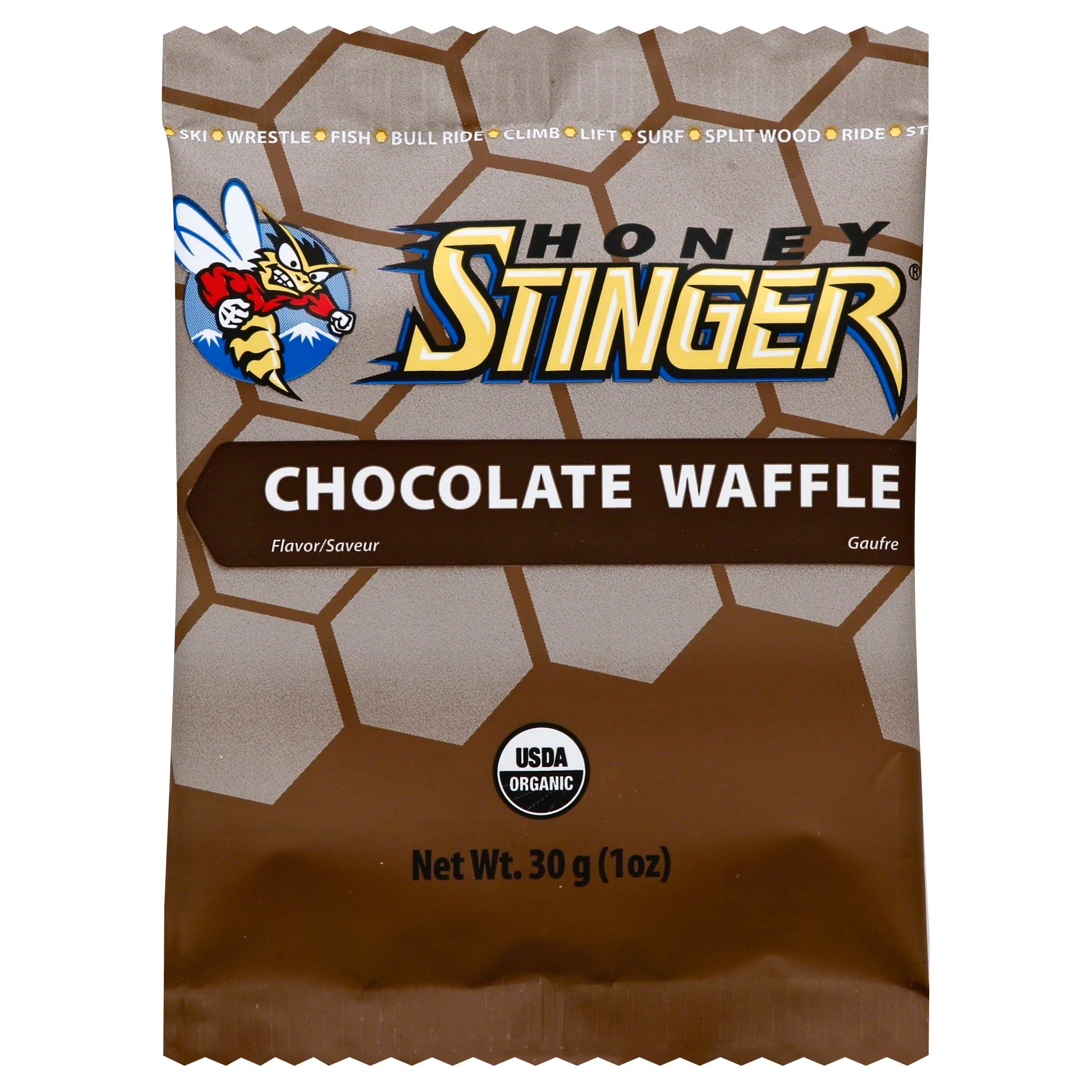 Honey Stinger Chews - Chocolate Waffle