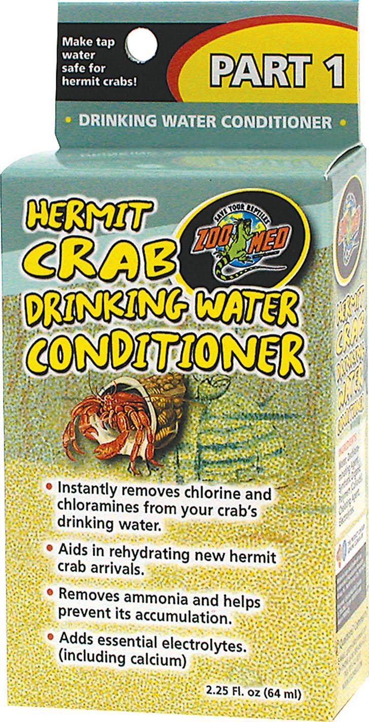 Zoo Med Hermit Crab Water Conditioner - 64ml