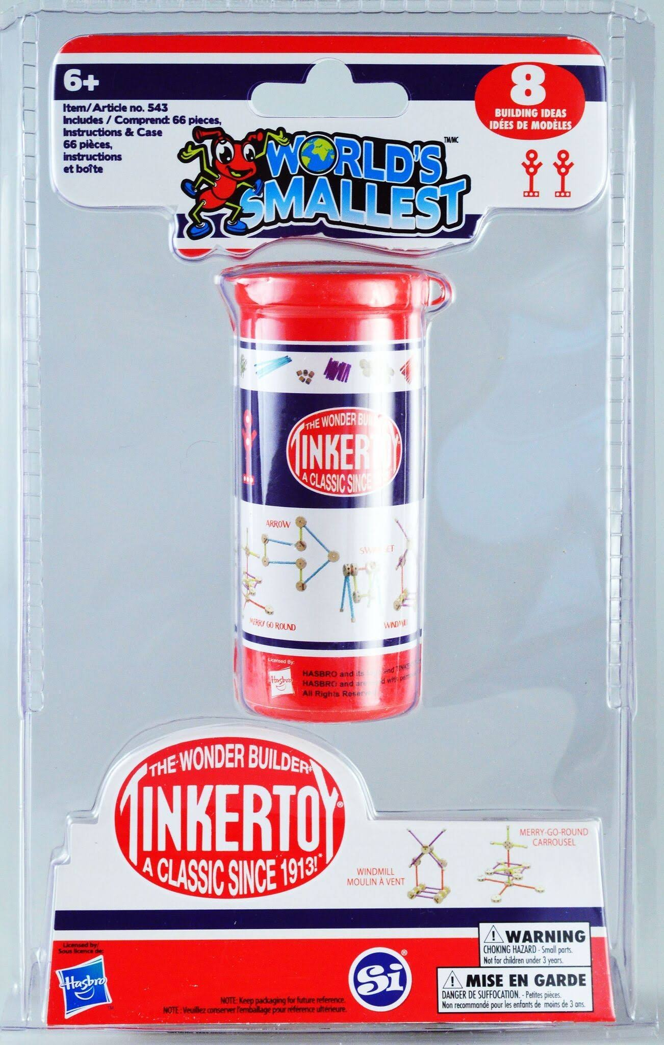 Worlds Smallest Tinkertoy
