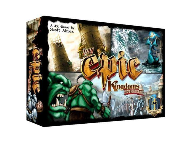 Gamelyn Games Tiny Epic Kingdoms 2nd Edition
