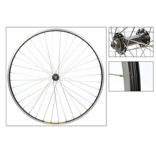 Wheel Front 700 x 35 Black Silver WEI-ZAC19 36H