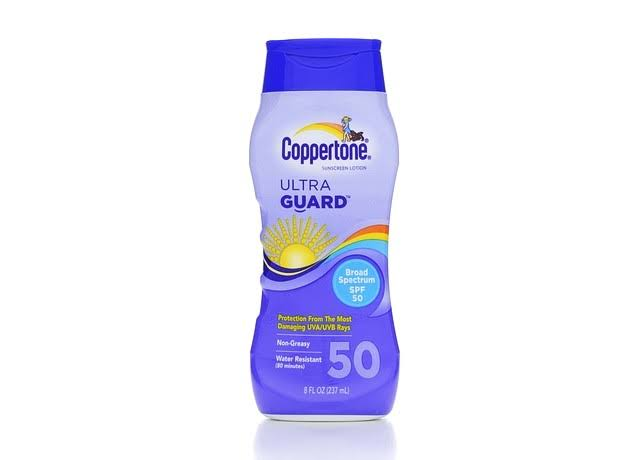 Coppertone Ultra Guard Sunscreen - SPF50, 240ml