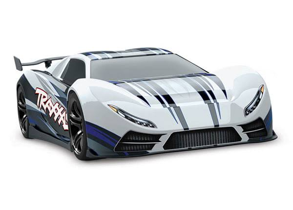 Traxxas Xo 1 1 7 Scale Awd Supercar - with TQi 2.4GHz Radio System and Tsm, White