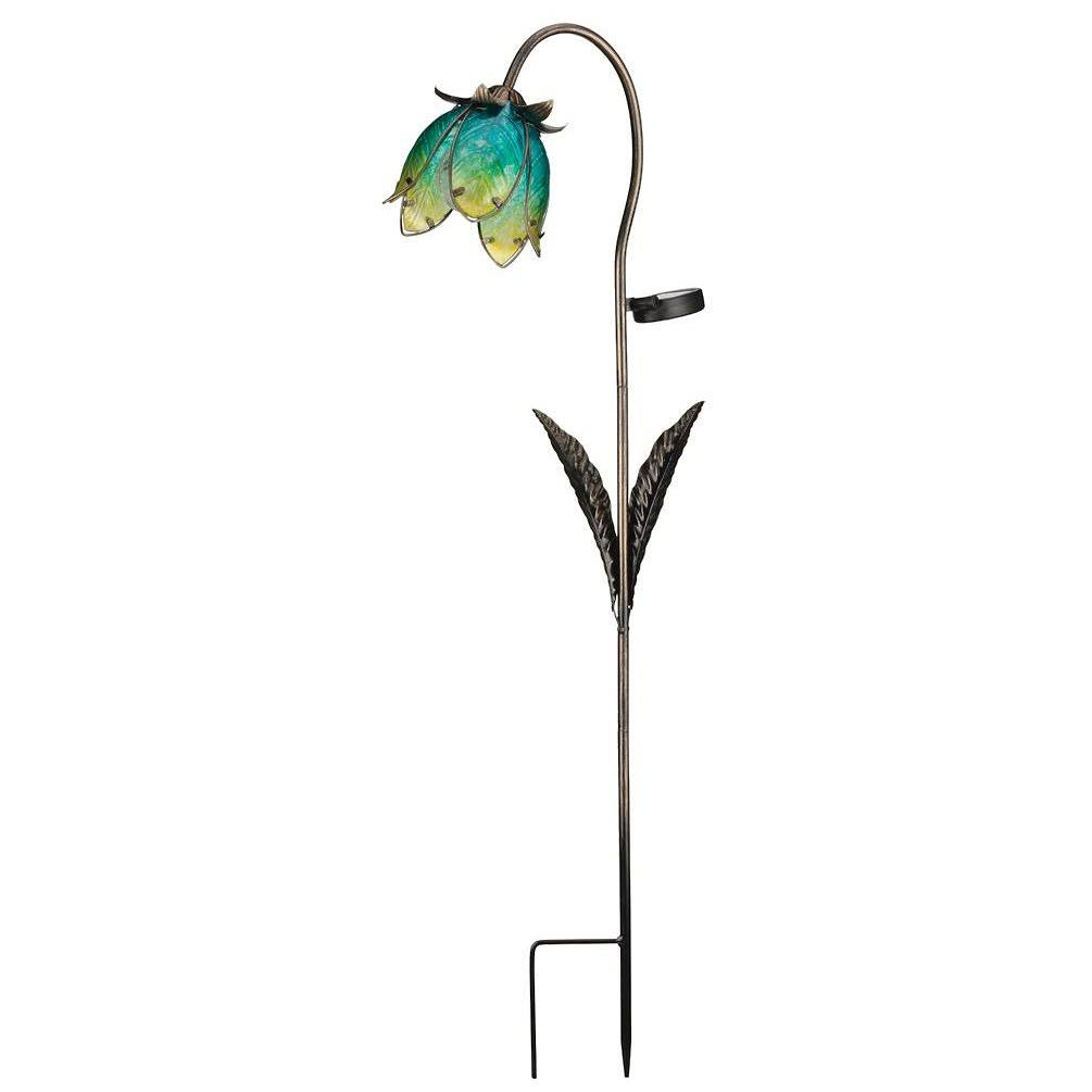 Regal Art and Gift Solar Wildflower Stake - Blue