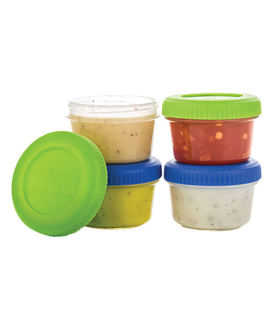Snaplock Dressing to Go 1 oz. Food Storage Containers (Set of 4)