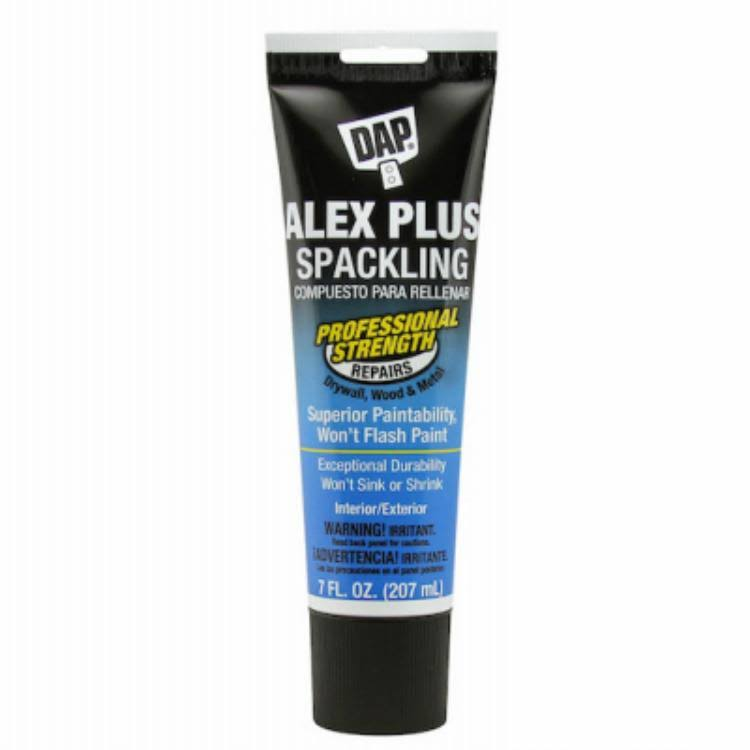 DAP Alex Plus High Performance Spackling Paste - 7oz