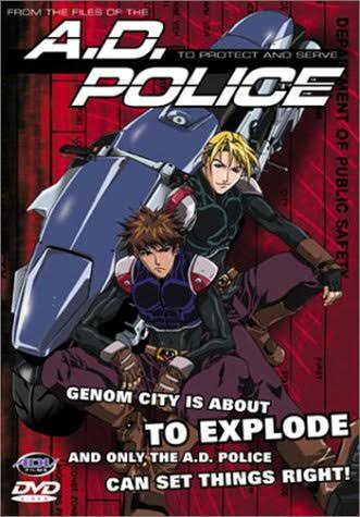 A.D. Police: To Protect and Serve DVD