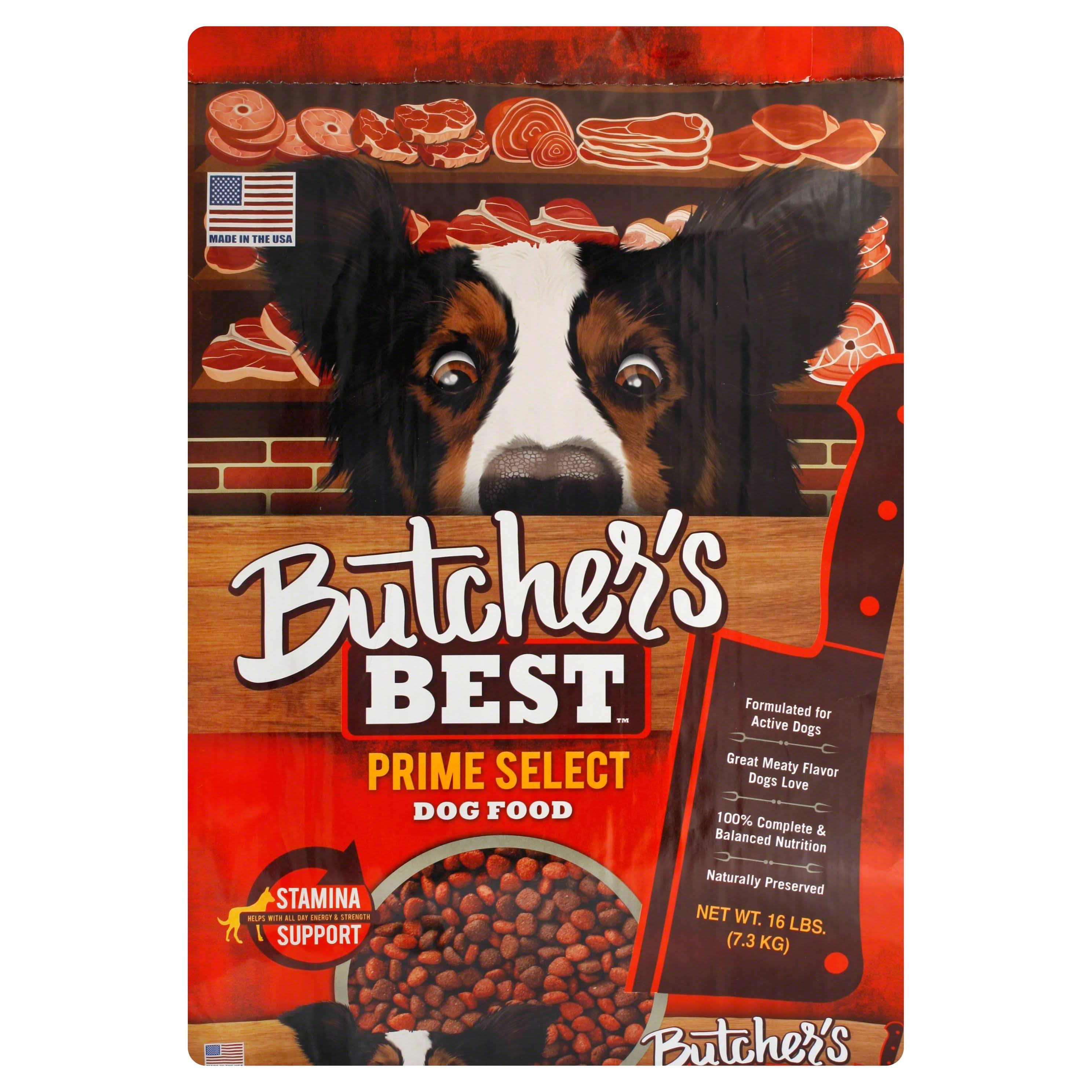Butchers Best Dog Food, Prime Select - 16 lb
