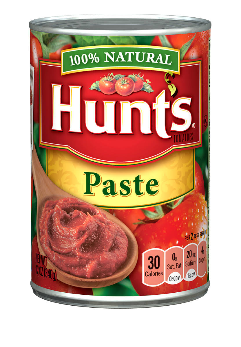 Hunts Tomato Paste - 12oz