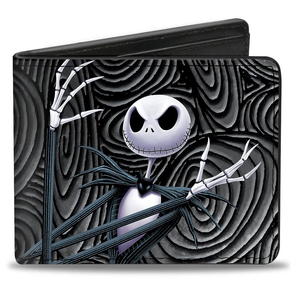 Buckle-Down Nightmare Before Christmas Jack Arms Crossed Bi-Fold Wallet