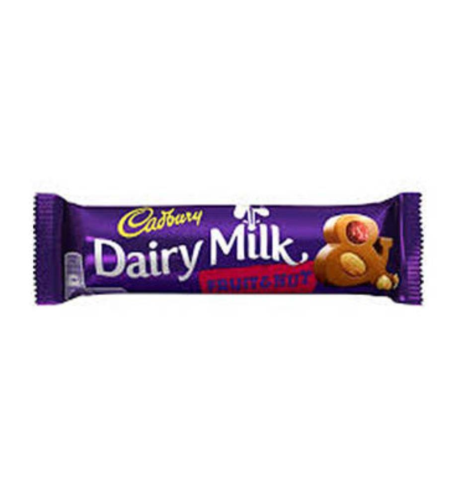 Cadbury Dairy Milk, Fruit & Nut - 1.8 oz bar