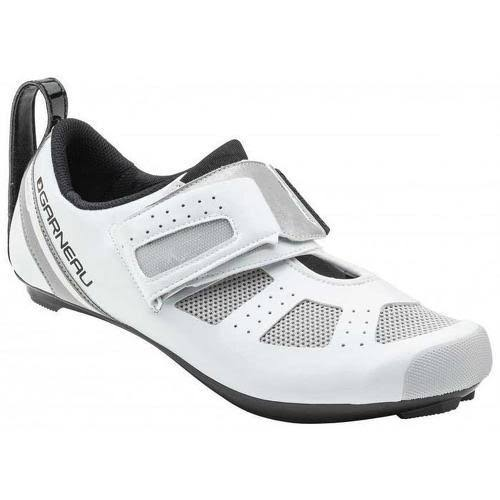 Louis Garneau Men's Tri X Speed III Triathlon Cycling Shoes - White