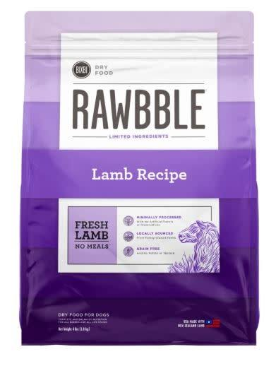 Rawbble Dry Food Lamb Recipe 4 lb
