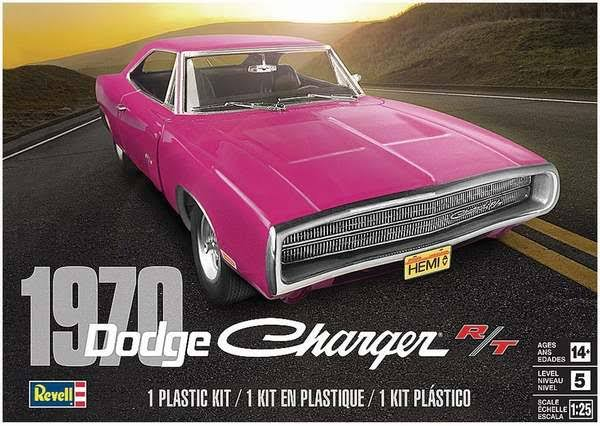 Revell 1/25 1970 Dodge Charger R/T