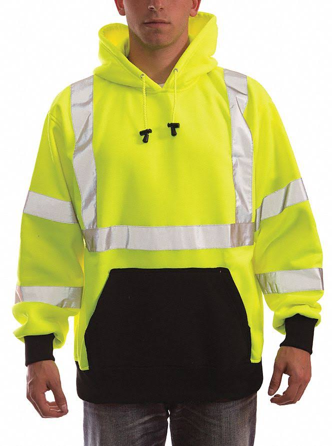 Tingley S78322 Hooded Sweatshirt,5XL,Polyester,ANSI 107