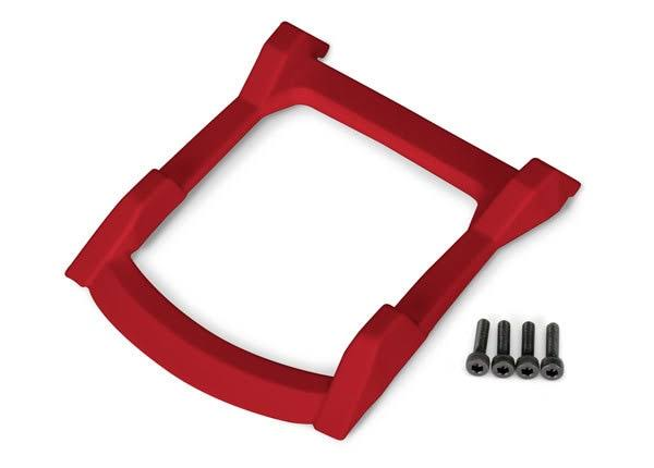 Traxxas Rustler 4x4 Roof (Body) Skid Plate Red TRA6728R