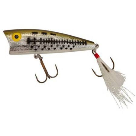 "Rebel Lures Magnum Pop R Fishing Lure - 3"", Ol' Bass"