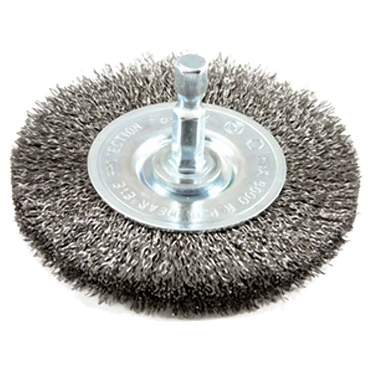 Forney Crimped Wire Wheel Brush