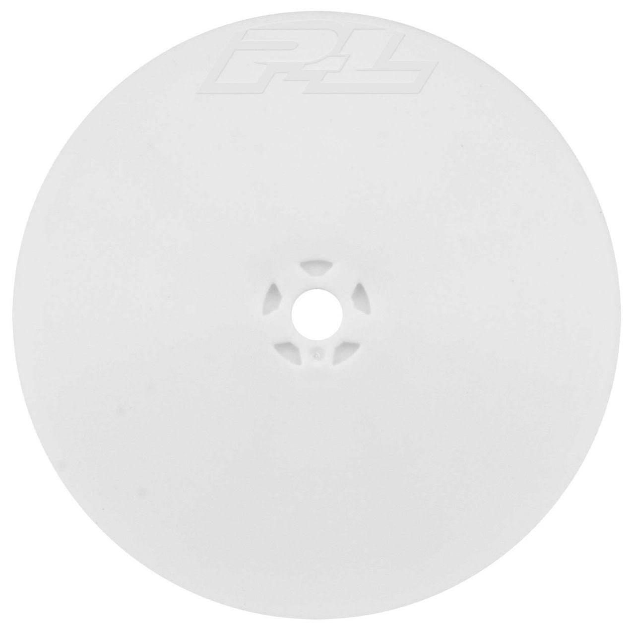 Pro-line Racing Velocity 4WD Front White Wheel for RC Car - 2.2""