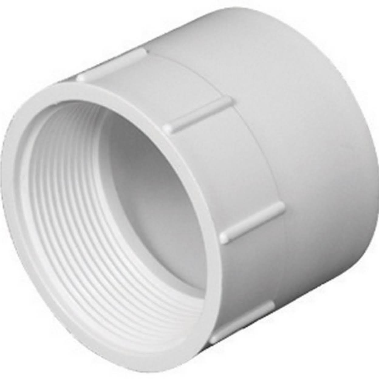 Charlotte PVC001011200HA Female Adapter - 3""