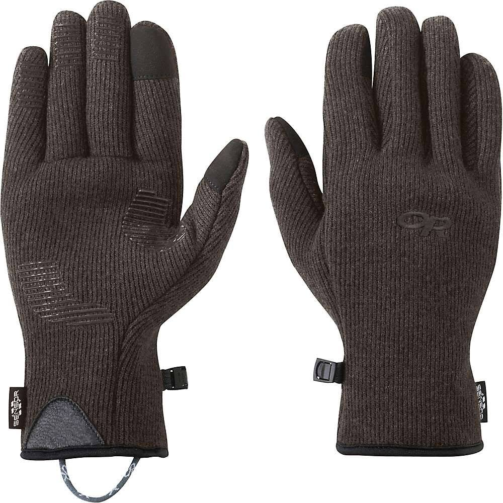 Outdoor Research Flurry Sensor Gloves - Men's Grizzly Brown Large