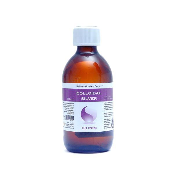 Secret 20ppm Colloidal Silver 300 ml