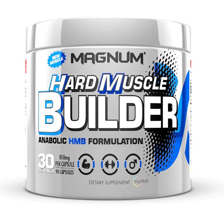 Magnum Nutraceuticals Hard Muscle Builder - 90 Capsules