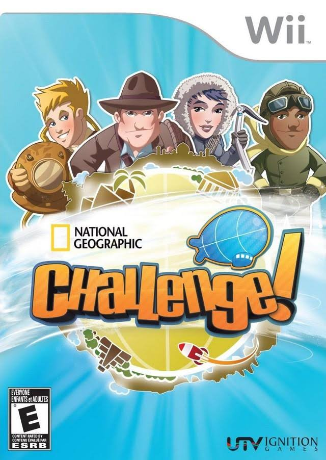 Wii National Geographic Challenge