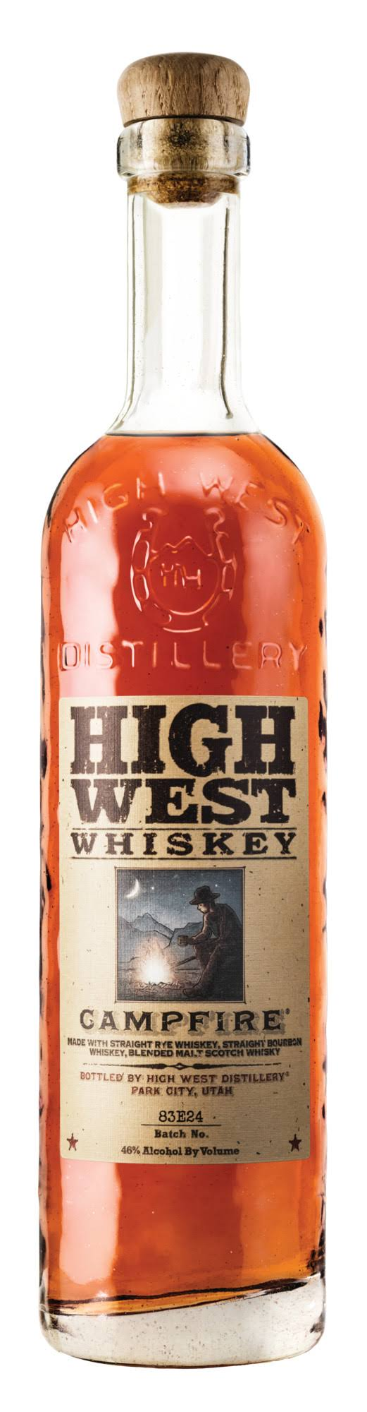 High West Whiskey Campfire - 750 ml bottle