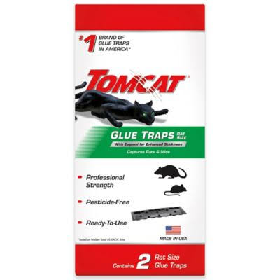 Tomcat Rat Size Glue Traps - 2 Pack