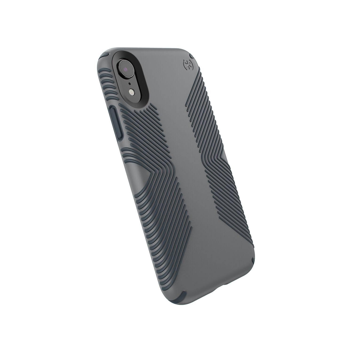 Speck Presidio Grip Case For iPhone XR - Graphite