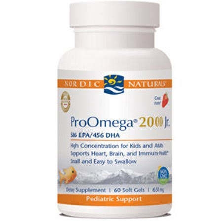 Nordic Naturals ProOmega 2000 Jr Supplement - 60 Softgels